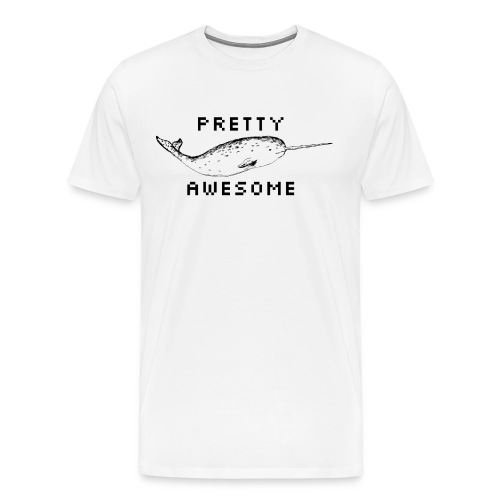 Pretty Awesome - Men's Premium T-Shirt