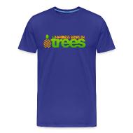 T-Shirts ~ Men's Premium T-Shirt ~ Happiness Grows on /r/trees