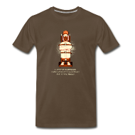 T-Shirts ~ Men's Premium T-Shirt ~ A Nice  Meep