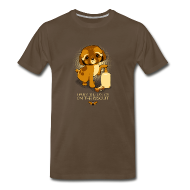 T-Shirts ~ Men's Premium T-Shirt ~ I Puts the Lotion on the Biscuit