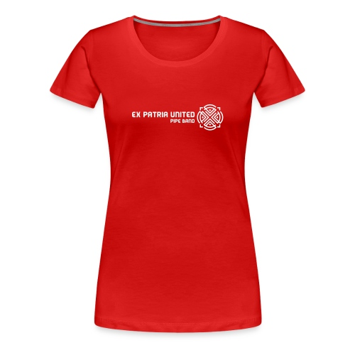Ex Patria United Pipe Band - Girlz - Women's Premium T-Shirt