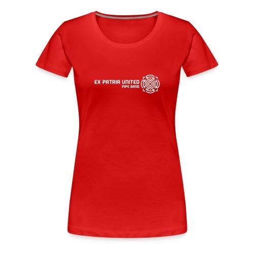 Ex Patria United Pipe Band - Girlz - Women's Premium T-Shirt
