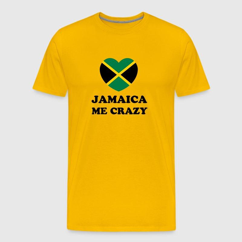Jamaica Me Crazy T Shirt Spreadshirt