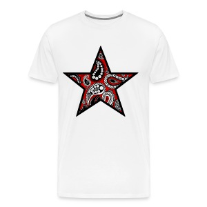 Paisley Star - Men's Premium T-Shirt