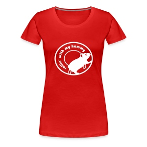 'Rollin' with my Hammy' Ladies Plus Size T-Shirt  - Women's Premium T-Shirt