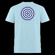 T-Shirts ~ Men's T-Shirt ~ TRON classic (2 color disc, blue/white)
