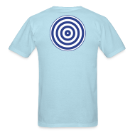 T-Shirts ~ Men's T-Shirt ~ TRON classic (2 color disc, blue/white)