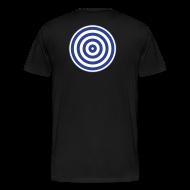 T-Shirts ~ Men's Premium T-Shirt ~ TRON classic disc-only (2 color disc, blue/white)