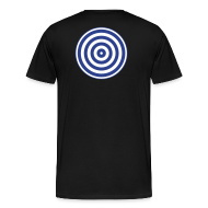 T-Shirts ~ Men's Premium T-Shirt ~ TRON classic disc-only (2 color disc, blue/white)