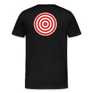 T-Shirts ~ Men's Premium T-Shirt ~ TRON classic disc-only (2 color disc, red/white)