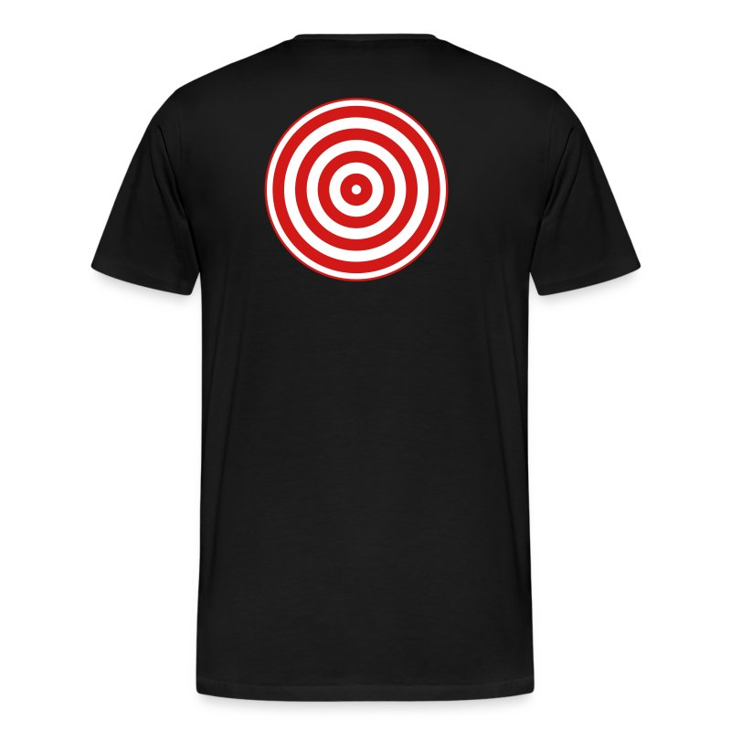 TRON classic disc-only (2 color disc, red/white) - Men's Premium T-Shirt