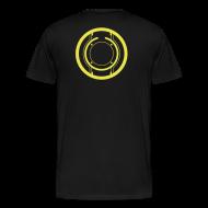 T-Shirts ~ Men's Premium T-Shirt ~ TRON legacy disc-only (yellow)