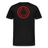 T-Shirts ~ Men's Premium T-Shirt ~ TRON legacy disc-only (red)
