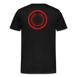 TRON legacy disc-only (red) - Men's Premium T-Shirt