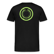 T-Shirts ~ Men's Premium T-Shirt ~ TRON legacy disc-only (green)
