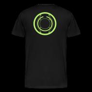 T-Shirts ~ Men's Premium T-Shirt ~ TRON legacy disc-only (green)