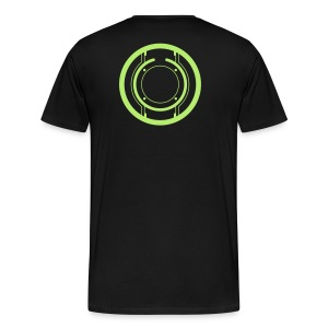 TRON legacy disc-only (green) - Men's Premium T-Shirt