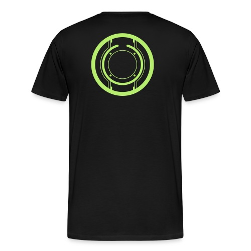 TRON legacy disc-only (green) - Men's Premium T-Shirt