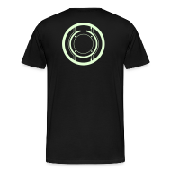 T-Shirts ~ Men's Premium T-Shirt ~ TRON legacy disc-only (glow)