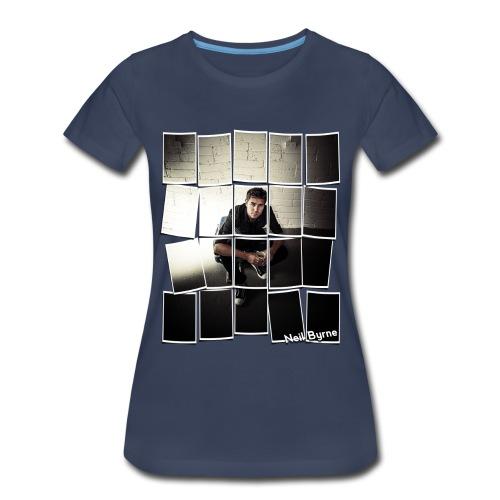 Ladies - 3XL/4XL - Neil Byrne - Cards Design - Women's Premium T-Shirt