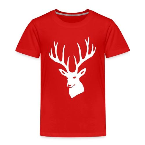 animal t-shirt stag antler cervine deer buck night hunter bachelor - Toddler Premium T-Shirt