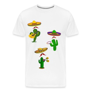 Mexican Musicians mens tshirt - Men's Premium T-Shirt