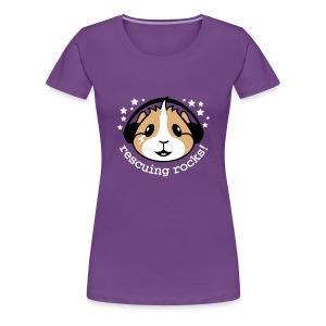 'Rescuing Rocks!' Ladies Plus-Size T-Shirt - Women's Premium T-Shirt