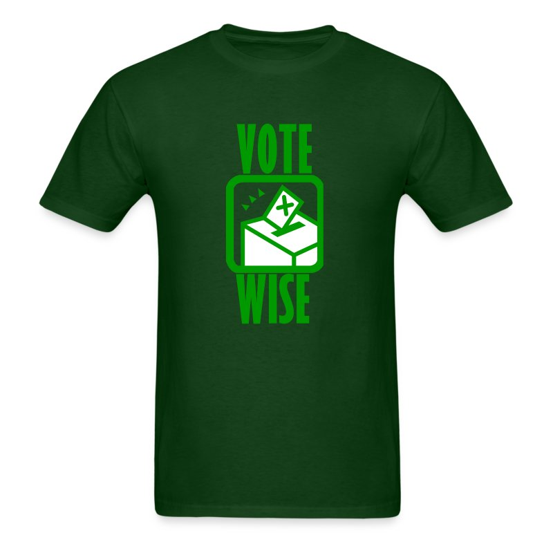 2 Words - VOTE - Men's T-Shirt