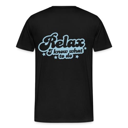 Relax Mens #2 - Men's Premium T-Shirt