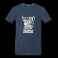 T-Shirts ~ Men's Premium T-Shirt ~ 2 Words- Connected