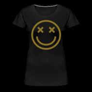 Women's T-Shirts ~ Women's Premium T-Shirt ~ I'm Faded [metallic gold]