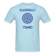 T-Shirts ~ Men's T-Shirt ~ TRON classically trained (blue)
