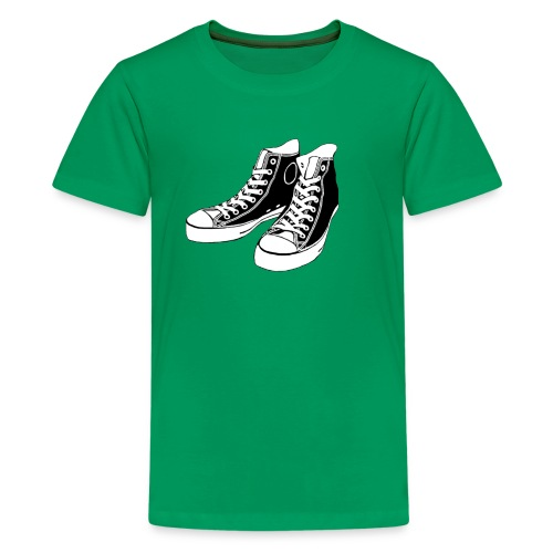 kid's converse tshirt - Kids' Premium T-Shirt