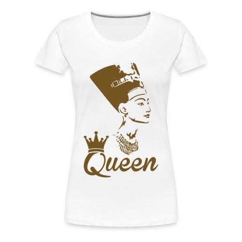 Nubian queen1  - Women's Premium T-Shirt