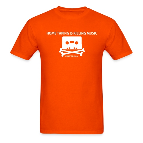 Piracy: Home taping is killing music - Men - Men's T-Shirt
