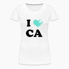 I Heart California (palm tree heart)