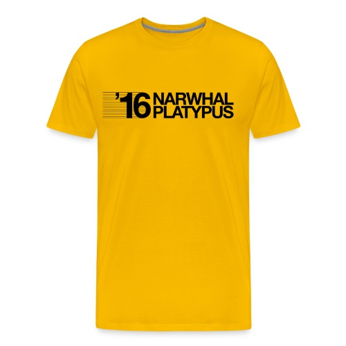 Narwhal Platypus - Men's Premium T-Shirt