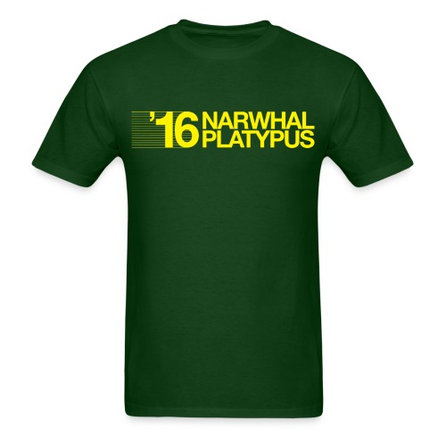 Narwhal Platypus - Men's T-Shirt