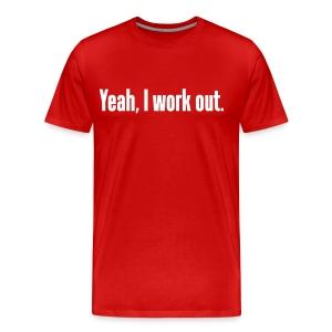 Workout Shirt - Men's Premium T-Shirt