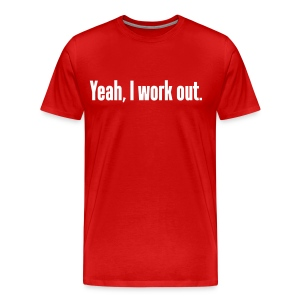 Workout Shirt - Men's Premium T-Shirt