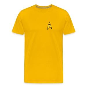Mission Log Captain Shirt - Men's Premium T-Shirt