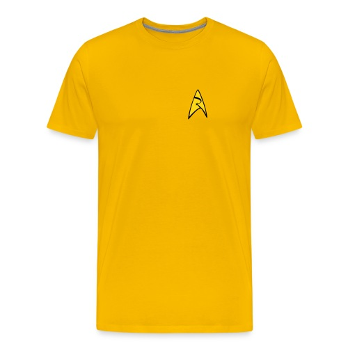 Mission Log Captain Shirt - Men's Premium T-Shirt