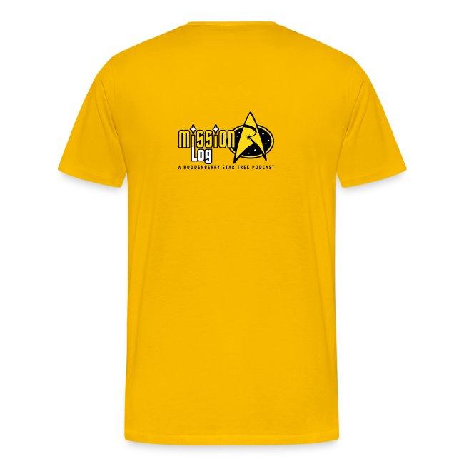 Mission Log Captain Shirt
