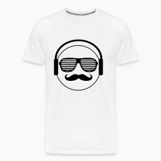music smiley T-Shirts