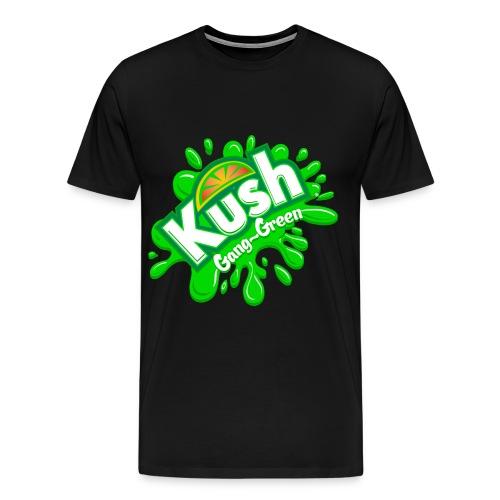 Kush Gang-Green Short Sleeve T - Men's Premium T-Shirt