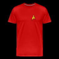 T-Shirts ~ Men's Premium T-Shirt ~ Mission Log Red Shirt