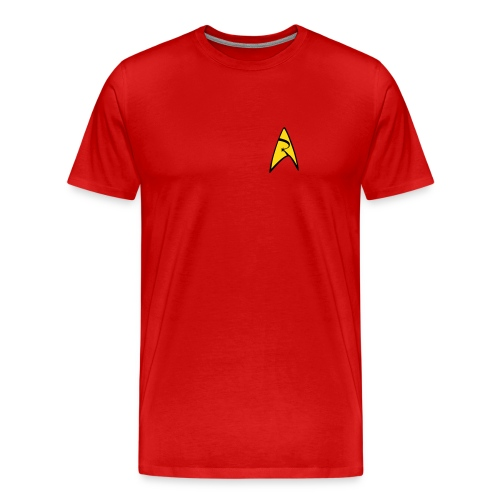 Mission Log Red Shirt - Men's Premium T-Shirt