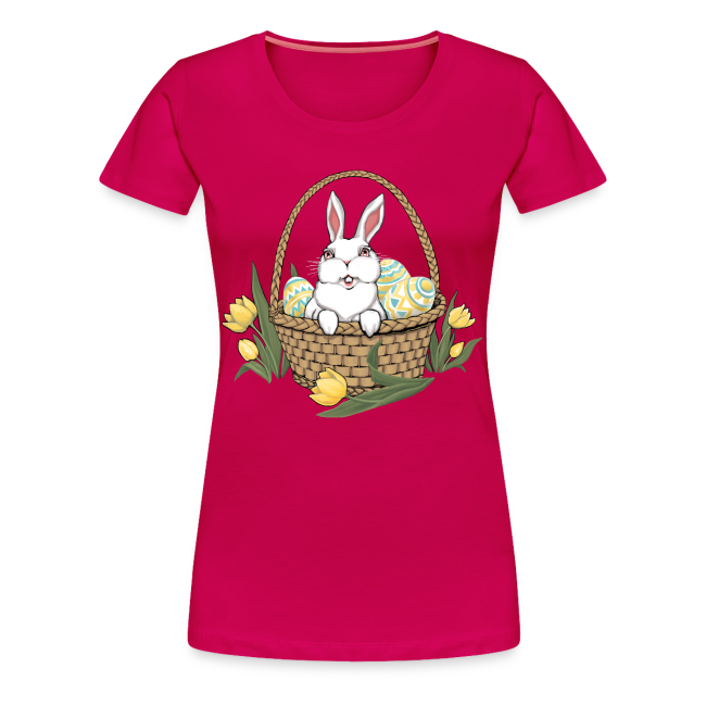 ad9f8a5f2b Women s Easter T-shirts Plus Size Easter Basket Shirts