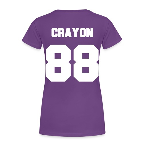 Crayon Jersey-Double Sided - Women's Premium T-Shirt