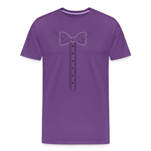 Add Bow Here Bow Tie - Men's Premium T-Shirt